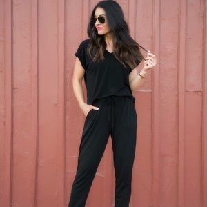 Other - Black jumsuit with pockets.